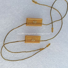 Leather Hang Tags Lock Luggage Seal Tags
