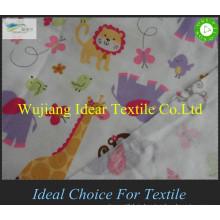 100% cotton print flannel fabric