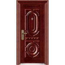 puerta de acero inoxidable cubierta con CE