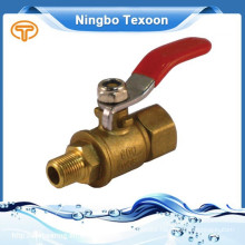 LF-MI Brass lead free Mini Ball Valves suitable for the water and air