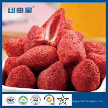 Freeze dried strawberry slice exporting