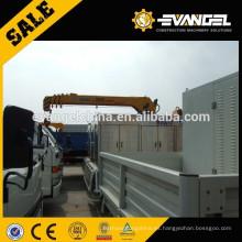 China SQ5ZK2Q 5 ton, mini grúa montada en un camión pequeño