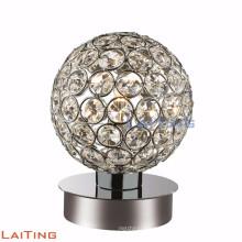 Lámpara de mesa de cristal barata contemporánea de la lámpara de mesa del goble 12222