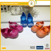 Heiße Art reizende Sternleder-Babyschuhe beschuht weiche alleinige Kleidschuhe