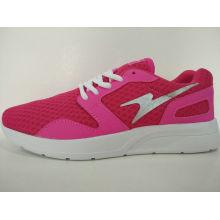 Rose Red Mesh Light Casual Zapatos para Ladis