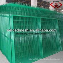 Anping gute Qualität PVC beschichtet Zaun Netz / 3 D Zaun / Draht Mesh / Mesh Zaun (SGS Zertifikat & ISO9001)