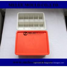 Plastikeinspritzungs-Organisator-Kasten mit Deckel-Formteil