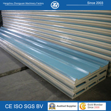 Sandwich Roofing Panel Width Bule or Wihte Color for Option