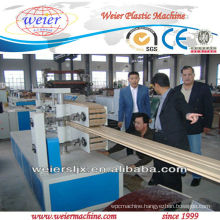 WPC profile machine line,PVC product extruder plant