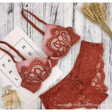 Специальная конструкция сексуальные кружева пуш-ап на косточках традиционных женщин бюстгальтер и краткий набор