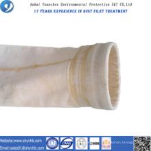 L'eau de filtre perforée par aiguille non-tissée et l'huile PPS et le sac de filtre de la poussière P84 de composition oléofuge pour l'industrie