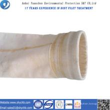 A agulha não tecida perfurou a água do filtro e o óleo repelente PPS e P84 o saco de filtro da poeira da composição para a indústria