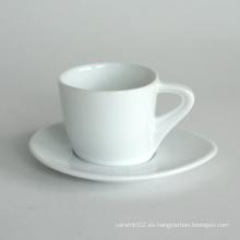 Juego de taza de café de porcelana, estilo # 738