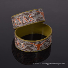 Pulsera de silicona libre de fábrica de muñeca de camuflaje no moq wristband de silicona personalizado