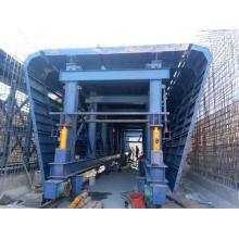 Coffrage simple de galerie de tuyaux pour la construction en béton