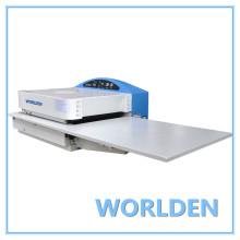 WD-450CS máquina de fusão para a colagem de frente para a indústria de roupas.