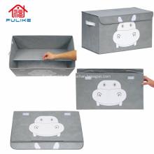 Rectangular Plastic Folding Fancy Storage Stool Boxes