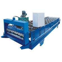 Machine de formage de rouleaux d'acier de couleur pour panneau mural