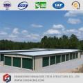 Construção de armazenamento de estrutura de aço de baixo custo