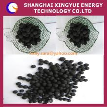 Для удаления газа используется 1.5 мм уголь на основе сферического активированного угля