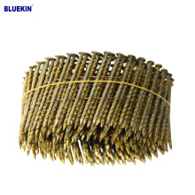 """Galvanized Smooth 1-1/4"""" coil ring shank nails"""