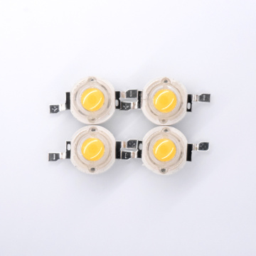 LED blanco de alta potencia 3000K 1W LED 110lm