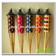 Audu Natural Material Bamboo Tiki Torch для сада