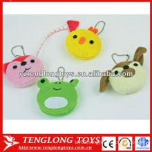 Wholesale various animal shapes cute plush measuring tape