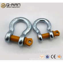 Drop forged adjustable shackle clasp