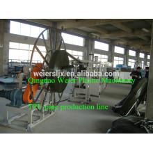 high output of TPU layflat hose line