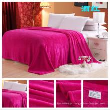 Preço EXW para Flanela Cobertor de Lã