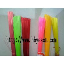 Filamentos de cepillo PET pbt Plástico Hollow afilado filamento / cerdas