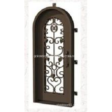 2019 Hot Sale Full Arch Iron Single Door