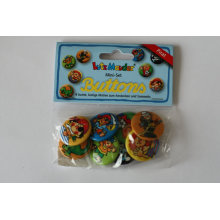 Cartoon Button for Promotion Printing Tin Badge (HY-MKT-0020)