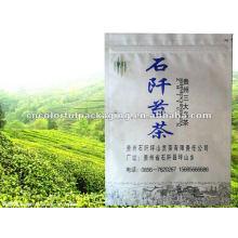 Impresión de té Doypack Kraft paper / Al / PE packaging Pouch