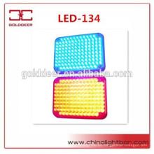 Señal de montaje superficial alta calidad LED de la lámpara ADVERTENCIA luz para Ambulae Vehicles(LED-134)