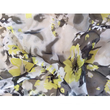 30d Polyester Printed Chiffon Fabric for Garment