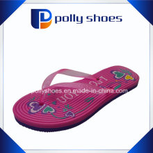 Sandale de plage rose Flip-Flop Chaussette
