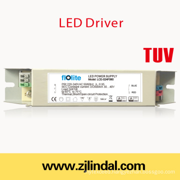 24W LED Driver Constant Current (Metal Case)