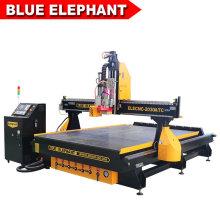 Ele 2030 Wood Design Cutting Machine, Atc Wood CNC Machine for Wood Crafts, Chairs