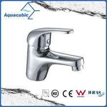 Zinc Handle Brass Body Basin Faucet in Polished Chrome (AF1961-6)