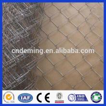 Venda por atacado da cerca da ligação chain da alta qualidade, engranzamento da ligação chain no rolo