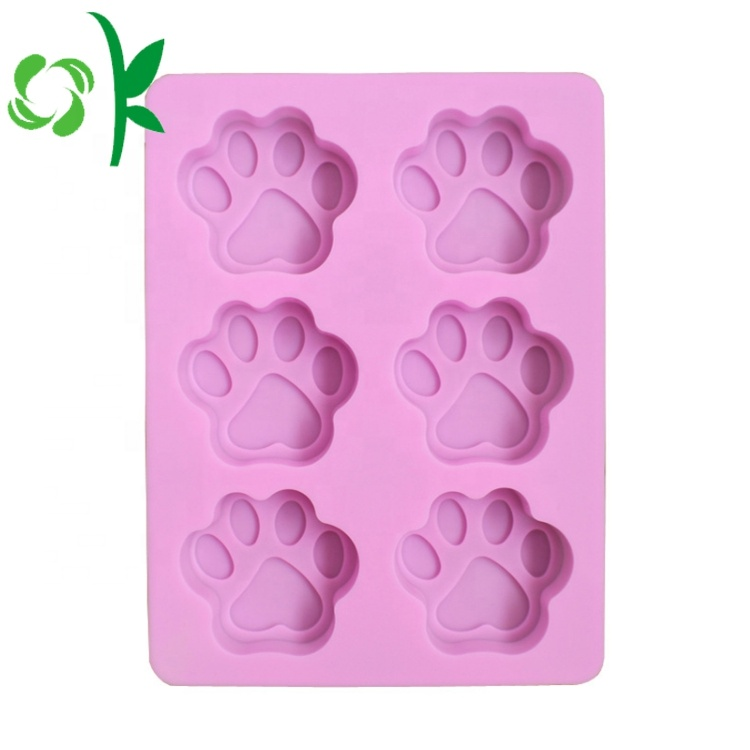 Hot Selling 6 Cavities Silicone Soap Mold