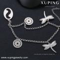 Pulsera de acero inoxidable para joyería Xuping 74299 para joyería.