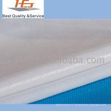 Plaine blanche de tissu imperméable pour le textile à la maison