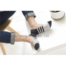 Moda Men Low Cut Liner algodón Calcetines con Sicila Gel Heel