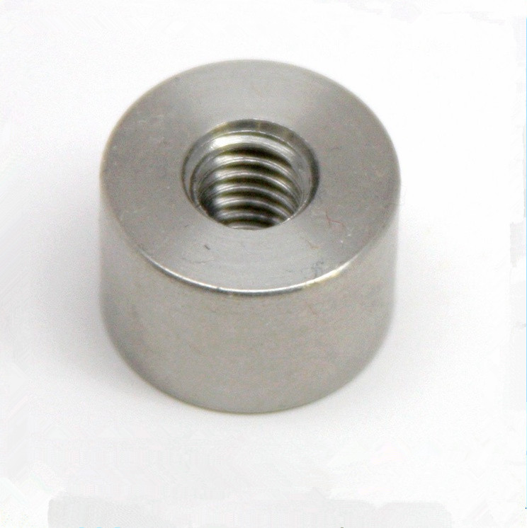Machining Metal Internal Threaded Spacer Nut
