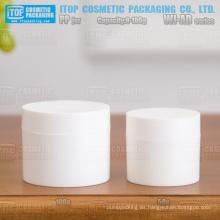 WJ-AD serie 8g 15g 30g 50g 100g mate acabado ángulo recto uso amplio clásico y caliente-vendiendo crema/gel redondo frasco pp