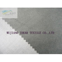 Knitted Flocked Fabric Bonded With TC Fabric for upholstery