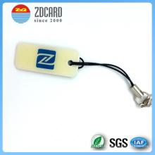 Customized Round Plastic PVC Luggage Tag